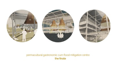 Permacultural gastronomic cum Flood mitigation: finale
