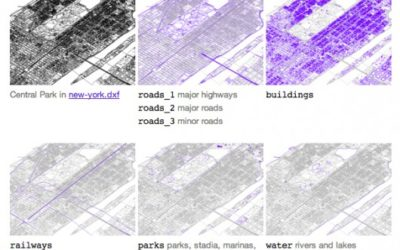 Free CAD Files of 241 Major World Cities
